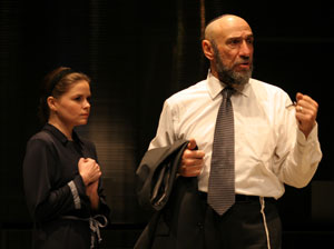 Nicole Lowrance and F. Murray Abraham
