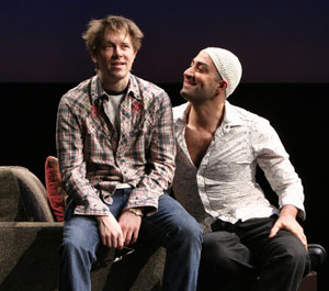 Austin Lysy and Peter Macdissi in All That I Will Ever Be