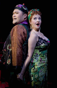 Orville Mendoza and Michele Ragusa