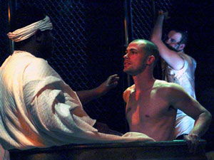 Nathan Hinton, Dana Watkins, and Daniel Talbott