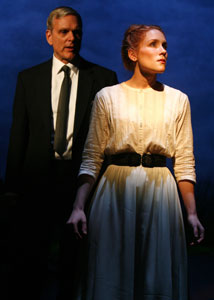 Keir Dullea and Paige Howard