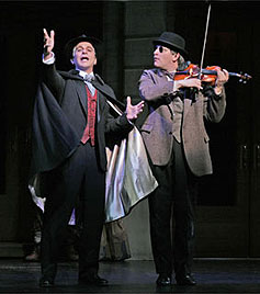 Tony Danza and Jim Borstelmannin The Producers(© Paul Kolnik)