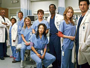 The cast of Grey's Anatomy