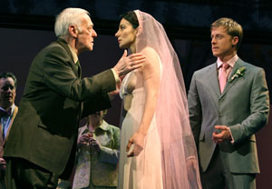 John Mahoney, Annie Parisse, and Alan Tudyk