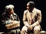 Beatrice Winde and Isiah Whitlock, Jr.in A Lesson Before Dying(Photo: Susan Johann)