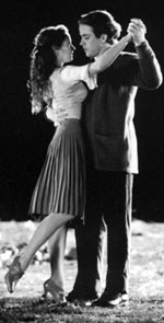 Jean Louisa Kelly andJoe McIntyre in The Fantasticks