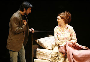Rick Stear and Deirdre O'Connell in Fugue