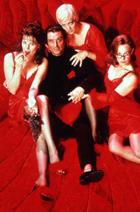 Lucie Arnaz, Ian McShane,Maria Friedman, and Joanna Ridingin The Witches of Eastwick(Photo: Sven Arnstein)