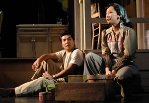 Hiro Kanagawa and Sala Iwamatsu in After the War