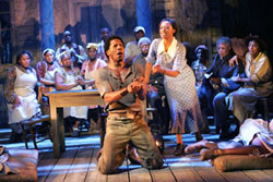 A scene from The Gershwins' Porgy and Bess