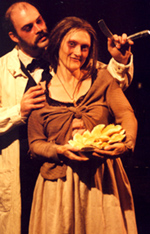 Edwin Sean Patterson andZoey O'Toole plot murder andmayhem in Sweeney Todd