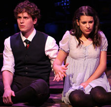 Jonathan Groff and Lea Michelein Spring Awakening(© Monique Carboni)