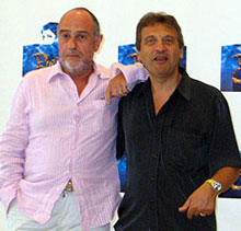 Claude-Michel Schönberg and Alain Boublil(© Michael Portantiere)