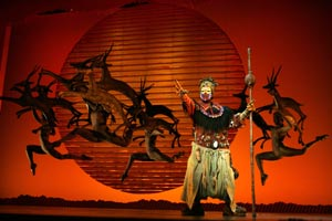 Gugwana Dlamini in The Lion King