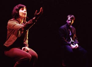 Audrey Lynn Weston and Mark Alhadeff in Rearviewmirror