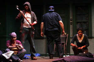 Sona Tatoyan, Juan Francisco Villa, Joe Minoso, and 