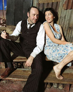 Kevin Spacey and Eve Best in A Moon for the Misbegotten