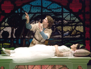 Russell Harvard and Alexandria Wailes