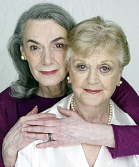 Marian Seldes and Angela Lansburyin a publicity photo for Deuce(© Michael O'Neil)