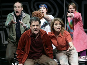 Top: Michael Winther, Anne L. Nathan, Sarah Litzsinger 