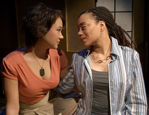 Megumi Haggerty and Abria Smith