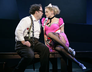 Shuler Hensley and Cady Huffman in All About Us