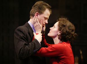 Sean McNall and Carolyn McCormick in Biography