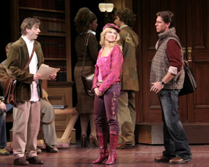 Christian Borle, Laura Bell Bundy, and Richard H. Blake