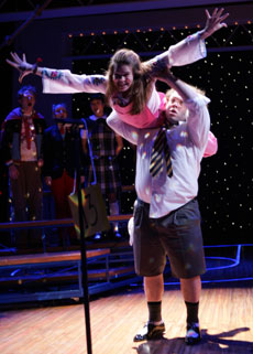 Celia Keenan-Bolger and Dan Fogler in