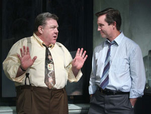George Wendt and Richard Thomas in Twelve Angry Men