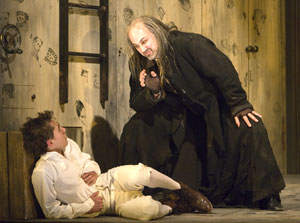 Michael Wartella and Ned Eisenberg in Oliver Twist