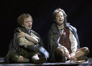 Peter Howe and Jame Loye in The Lord of the Rings