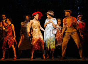 Michelle Williams, Jeannette Bayardelle, and company