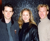 (l. to r.) Christian Campbell, Kim Tobin, and Robert Harriel, artistic directors of BSE