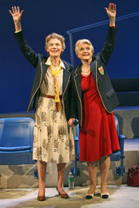 Marian Seldes and Angela Lansbury