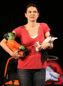 Amy Wilson in Mother Load
