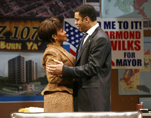 Tonya Pinkins and Harry Lennix in Radio Golf