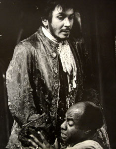 Frank Langella and Roscoe Lee Brown