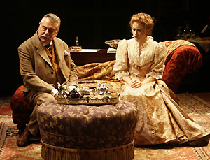 Brian Murray and Laura Odeh in Gaslight