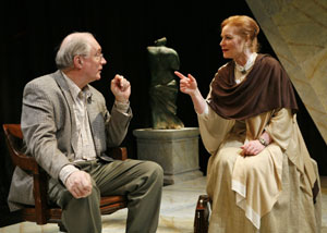 Simon Jones and Lisa Harrow in Phallacy