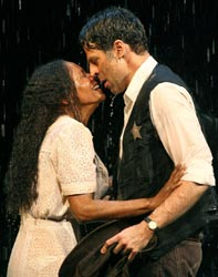 Audra McDonald and Christopher Innvar