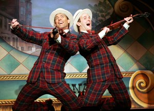 David Elder and Scott Barnhardt in Singin' in the Rain