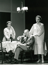 Betsy Aidem, Reed Birney, and Marian Seldesin The Butterfly Collection(Photo: Joan Marcus)
