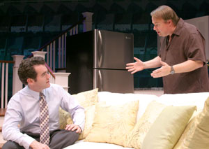 Brian d'Arcy James and Tom McGowan