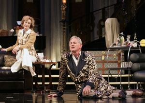 Lisa Banes and Victor Garber in Present Laughter