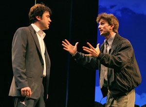 Ron Livingston and Frederick Weller in
