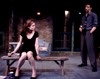 Mary-Louise Parkerand Ben Shenkman in Proof(Photo: Joan Marcus)