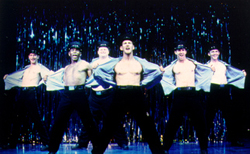 Putting themselves on the line:The men of The Full Monty(Photo: Craig Schwartz)