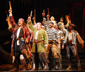 A scene from Pirates!