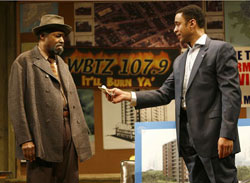 Anthony Chisholm and Harry Lennix